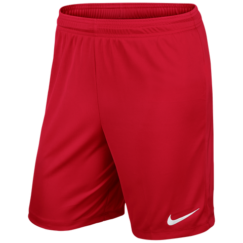 Ingles F.C. - Nike Park III shorts, Red, Youth. - Fanatics Supplies