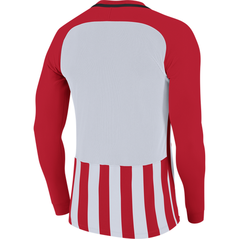 Anstey Nomads FC - Nike striped Devision III jersey - Red/White, Long sleeve, Youth sizes. (894103-658) - Fanatics Supplies