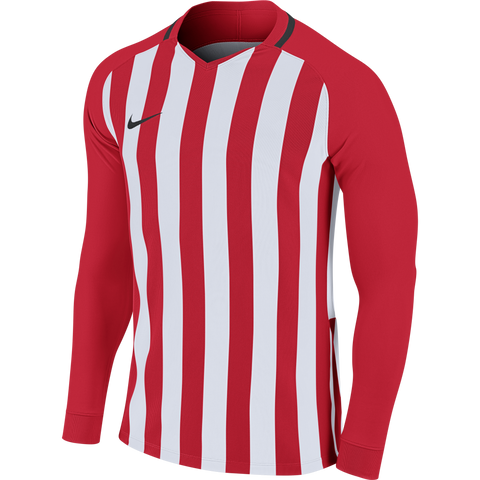Anstey Nomads FC - Nike striped Devision III jersey - Red/White, Long sleeve, Youth sizes. (894103-658)