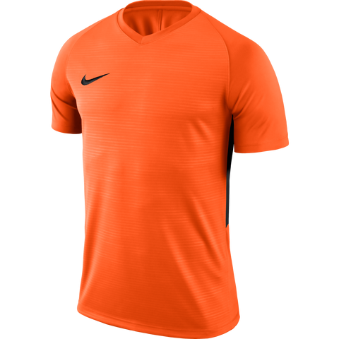 Lutterworth Town FC - Nike Tiempo Jersey, Orange, short sleeve, youth sizes. - Fanatics Supplies