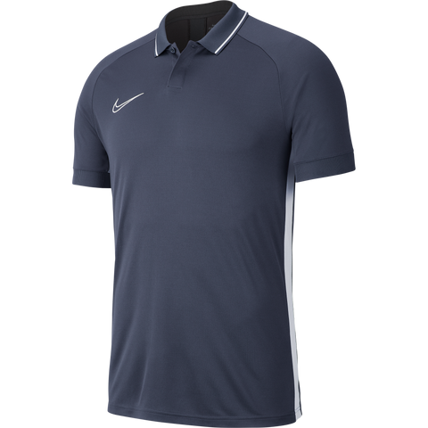 Lutterworth Town F.C. - Nike Academy 19 Polo, Grey, Youth. - Fanatics Supplies