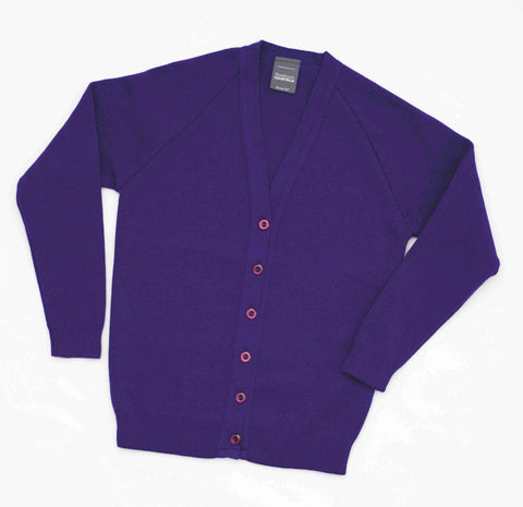 Ellesmere cardigan, Purple