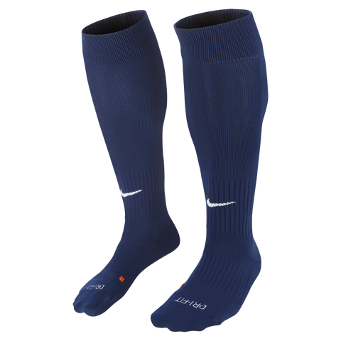 Football & Fitness Academy Classic II Sock - Navy - Fanatics Supplies