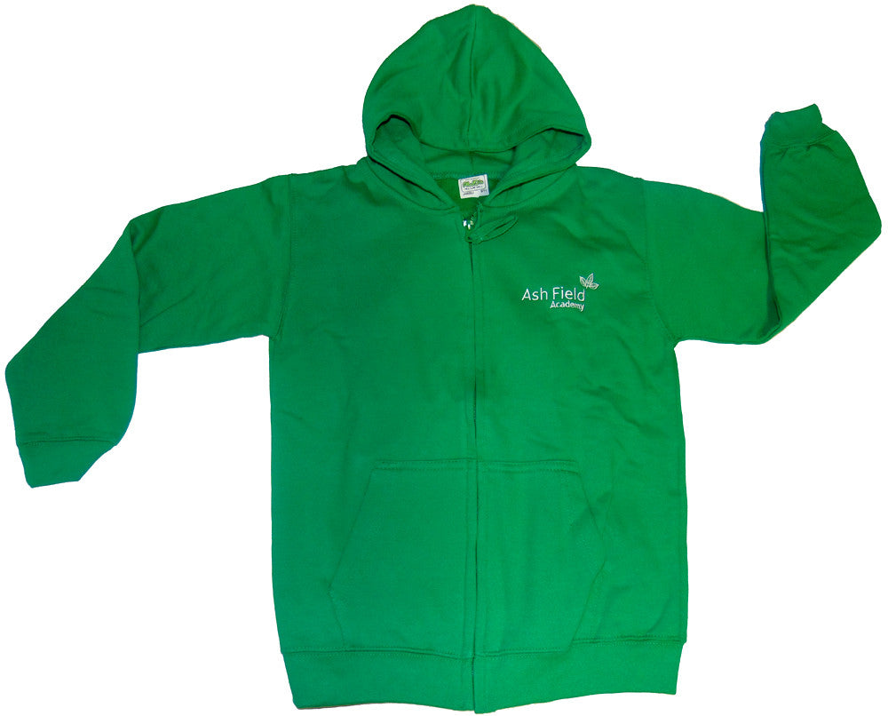 Ashfield -  Zipped hoodie (JH050J) - Fanatics Supplies