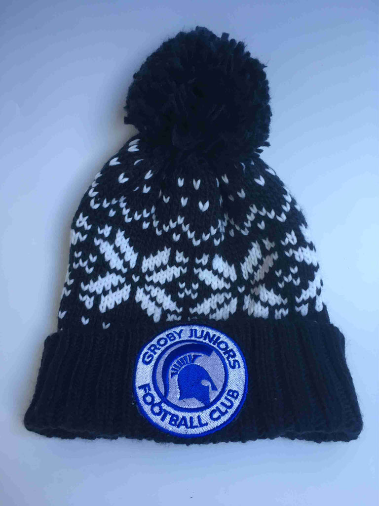 Groby Juniors FC.  - Winter hat