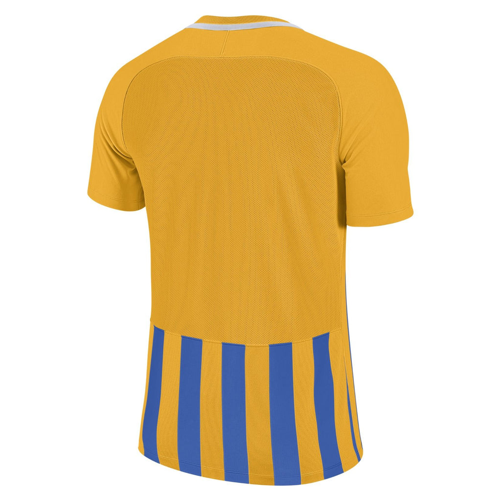 Barrow Town FC - Nike Striped Division III jersey, Youth, Yellow/Blue (894102/740) - Fanatics Supplies