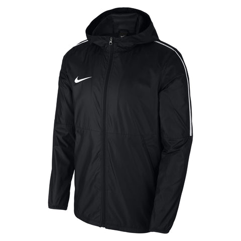 Score Football Coaching - Nike Park 18 rain Jacket, Black. Adults. - Fanatics Supplies