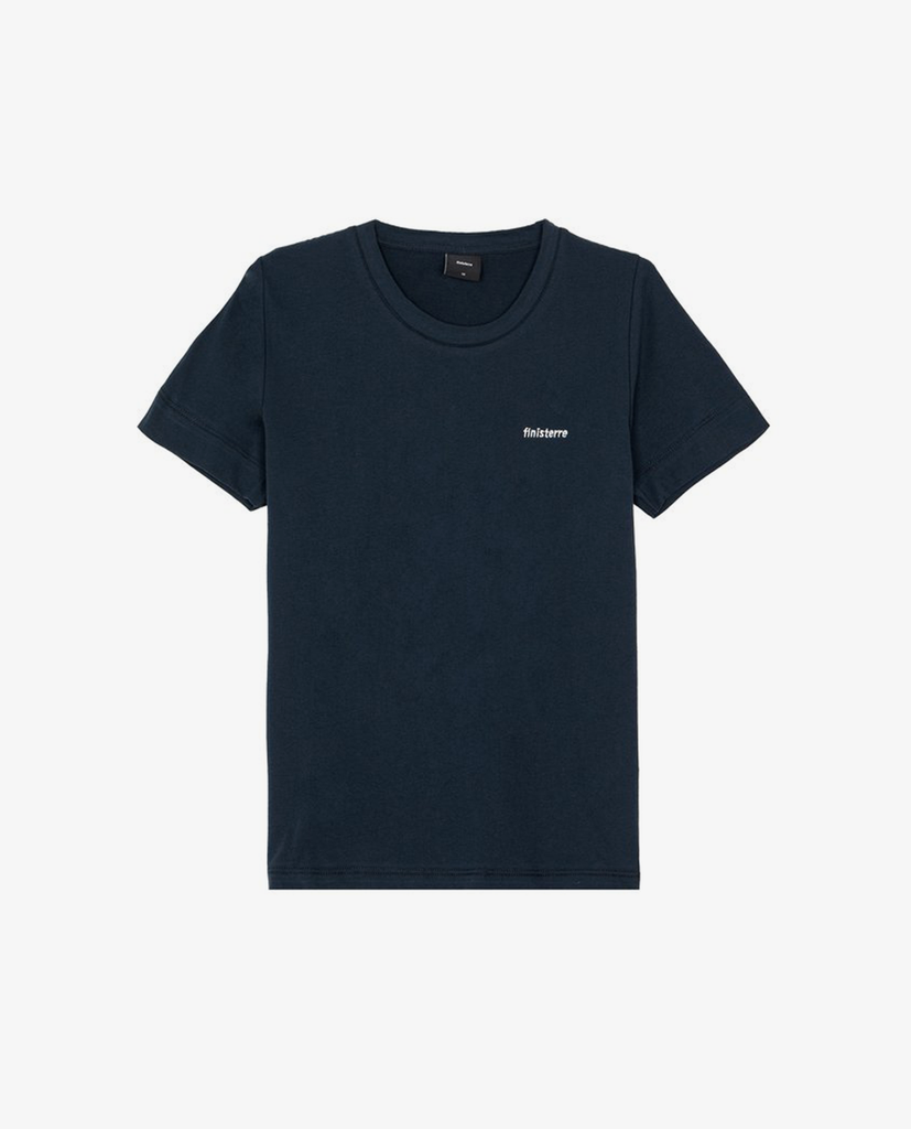 Finisterre – Biscay Logo Tee – Navy