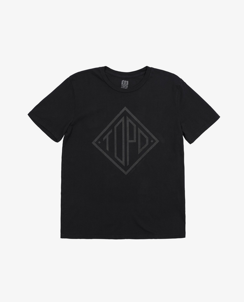 Topo Designs – Diamond Tee – Natural