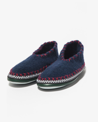 Common Wanderer – Hut Slipper – Navy