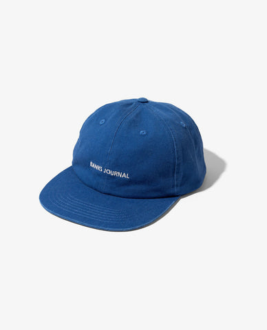 Banks - Label Hat - Newport Blue
