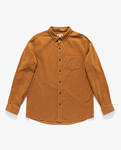 Banks - Roy LS Woven - Toffee