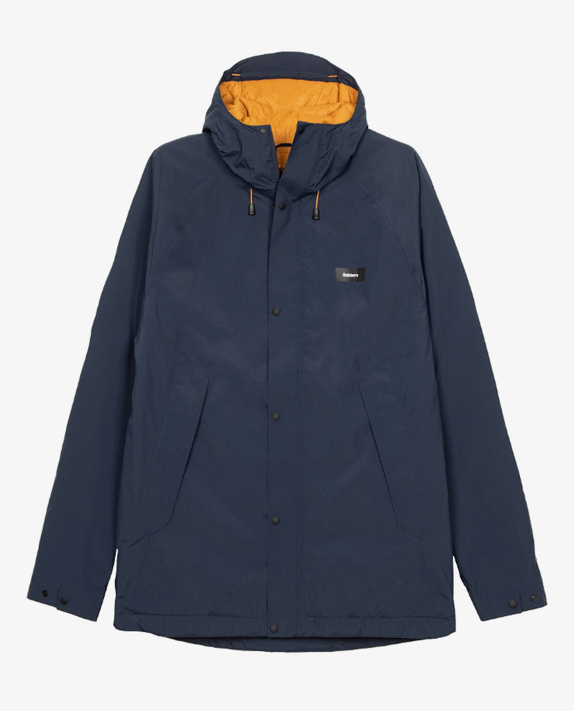 Finisterre – Borealis Jacket – Navy/Whiskey