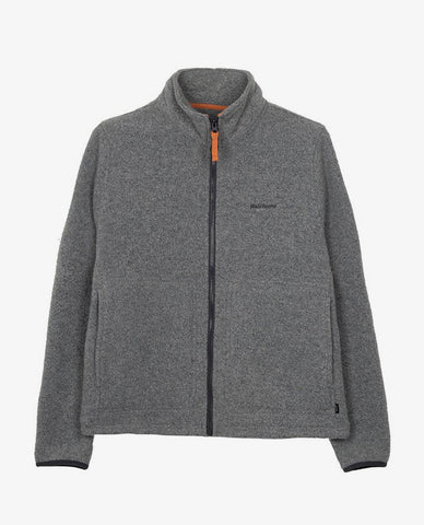 Finisterre - Buddock Wool Zip - Grey/Marl