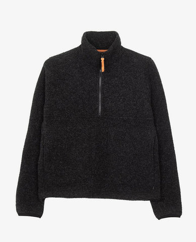 Finisterre - Budock Wool Smock - Charcoal