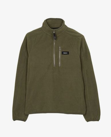 Finisterre - Penmere 1/4 Zip Fleece - Moss