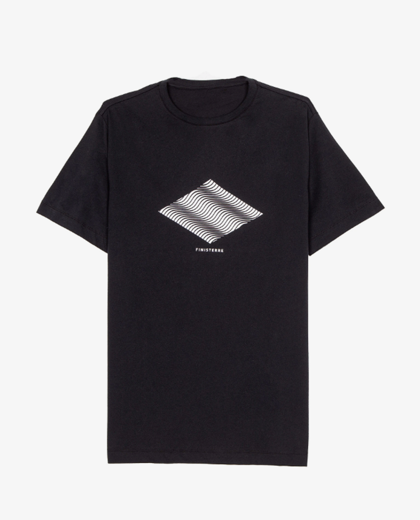 Finisterre – Ripple Tee – Black