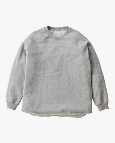 Gramicci - Tale cut sweat - Heather