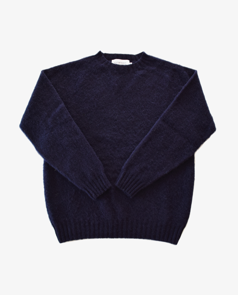 Common Wanderer – Shaggy Knit – Navy