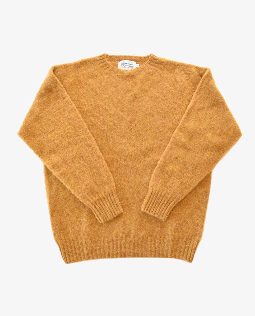 Common Wanderer – Knit – Yellow Crew