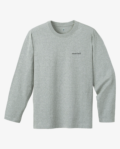 Montbell – Pearskin LS Tee – Grey W