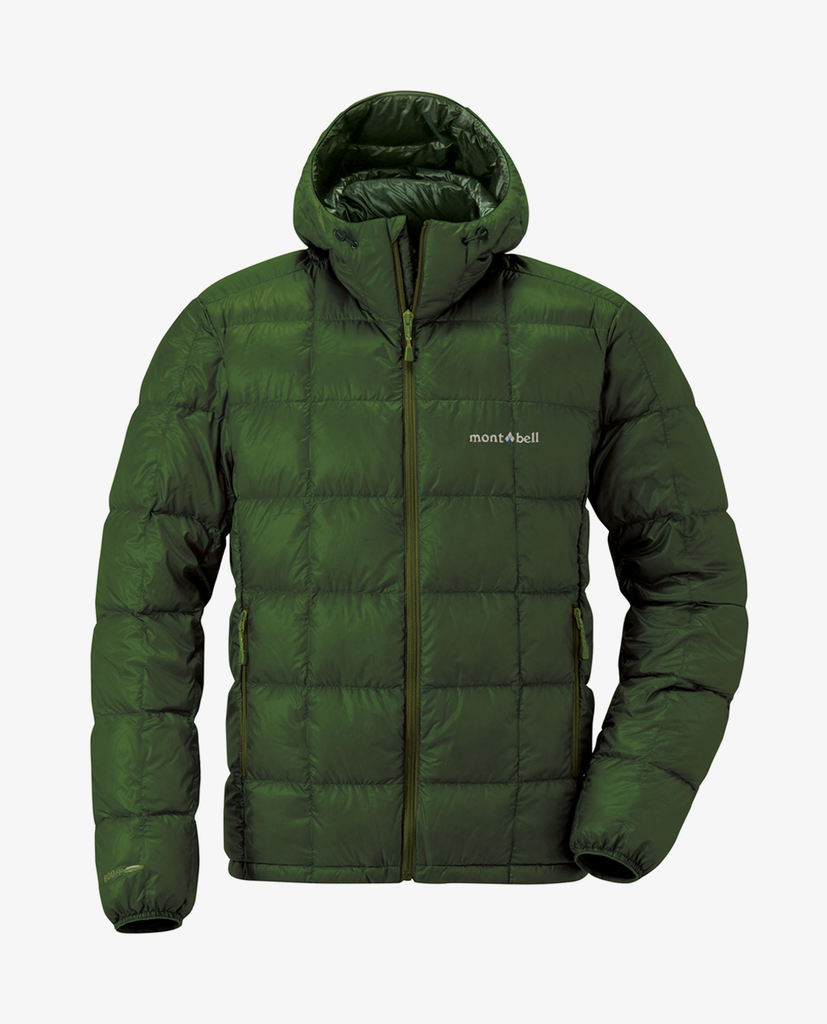 Montbell – Superior Down Parka – Khaki Green