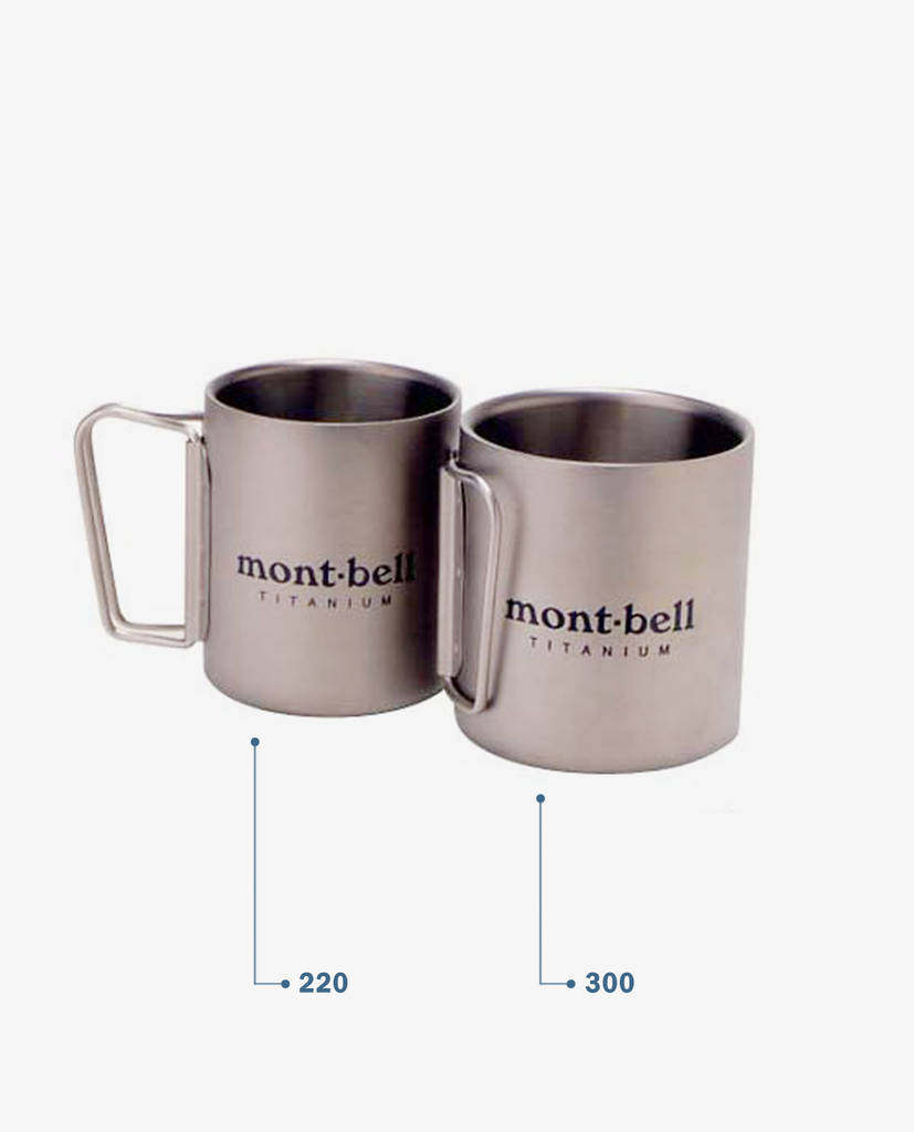 Montbell – Titanium Thermo Cup – 220