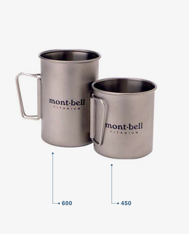 Montbell – Titanium Cup – 600
