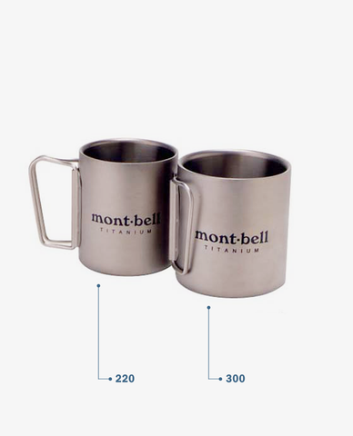 Montbell – Titanium Thermo Cup – 300