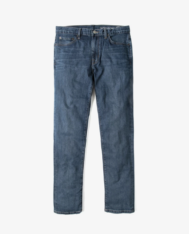 Outerknown – Ambassador Slim Jean – Faded Indigo
