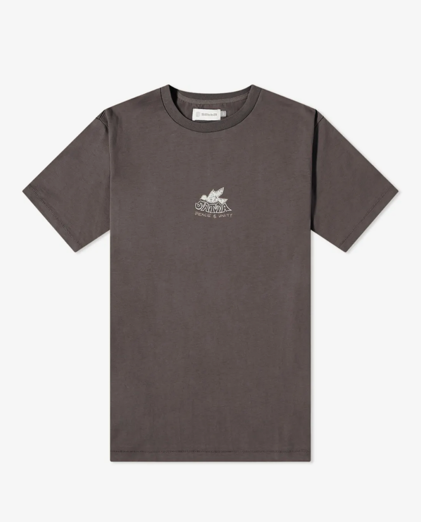 Satta – Dove Tee – Washed Black