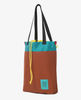 Topo Designs – Cinch Tote – Clay/Turquoise
