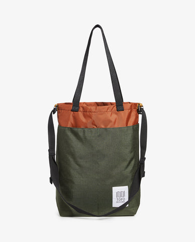 Topo – Cinch Tote – Olive/Clay