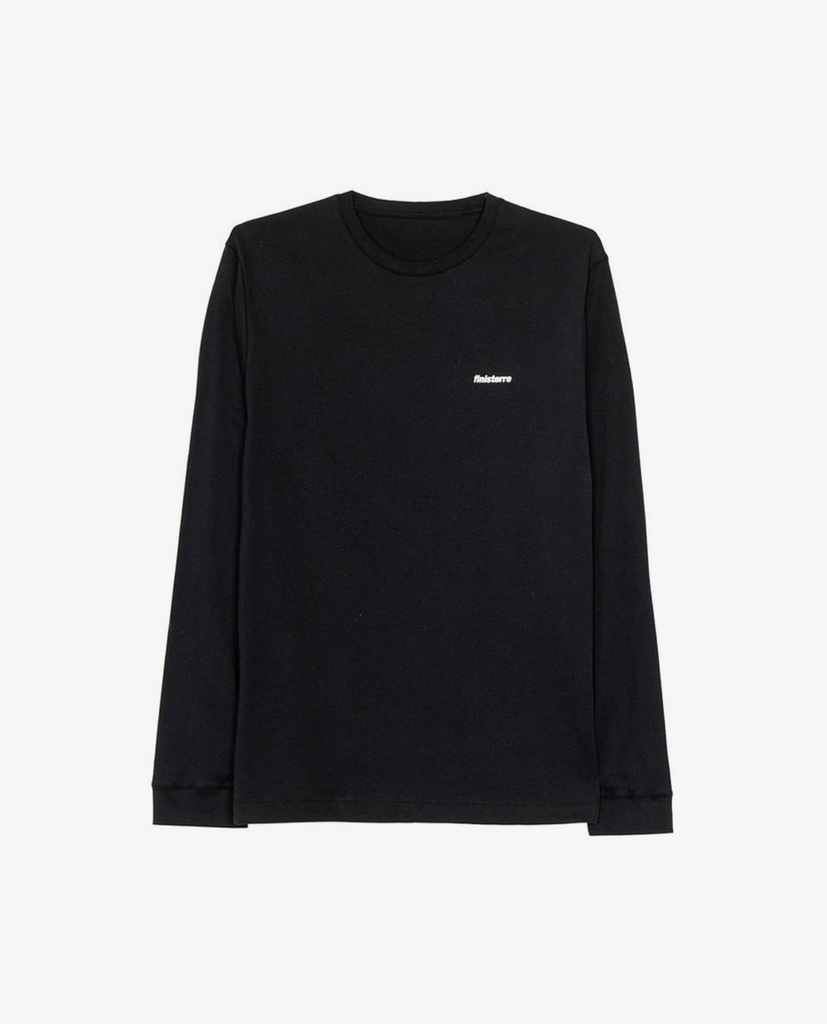 Finisterre – Harlyn Tee LS – Black