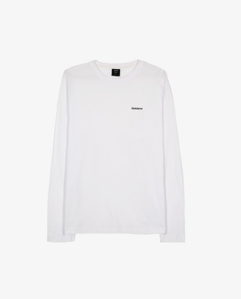 Finisterre – Harlyn Tee LS – White