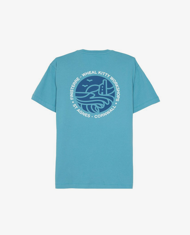Finisterre – Kitty Tee – Fjord Blue