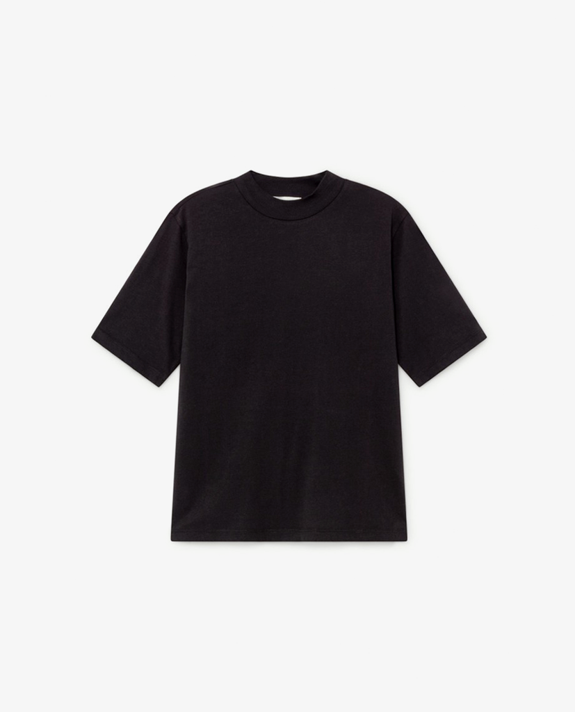 Thinking Mu - Mock Neck - Black