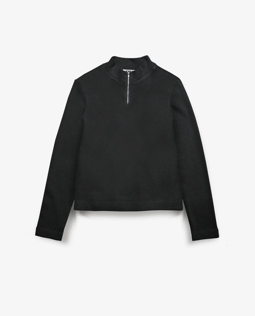 YMC – Zip Wave LS Top – Black