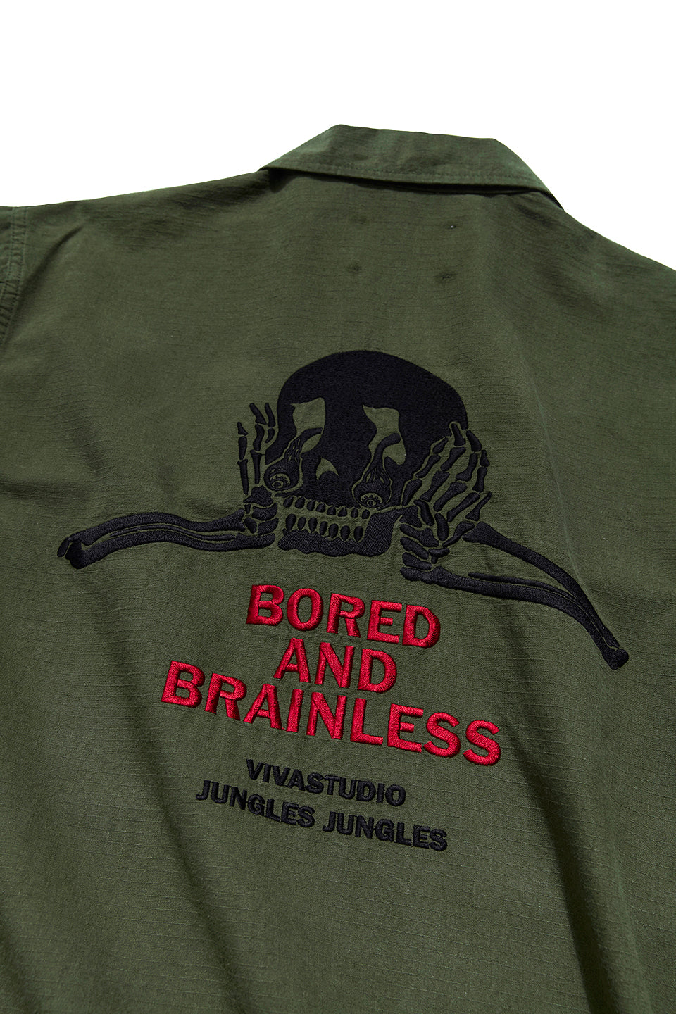 BORED AND BRAINLESS  / VIVASTUDIO BDU Jacket