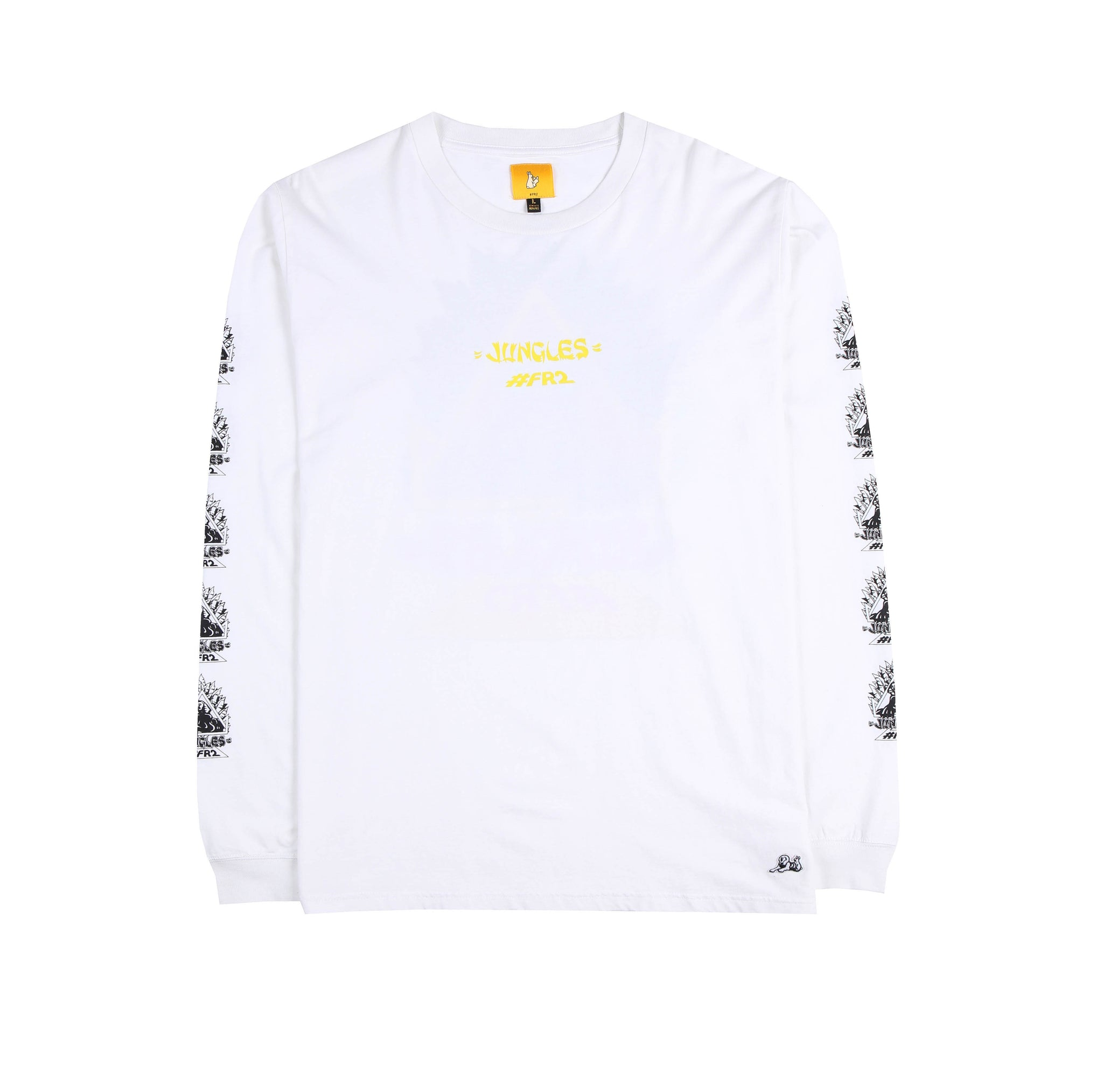 Jungles/Fxxking Rabbits 80's sphinx LS tee white