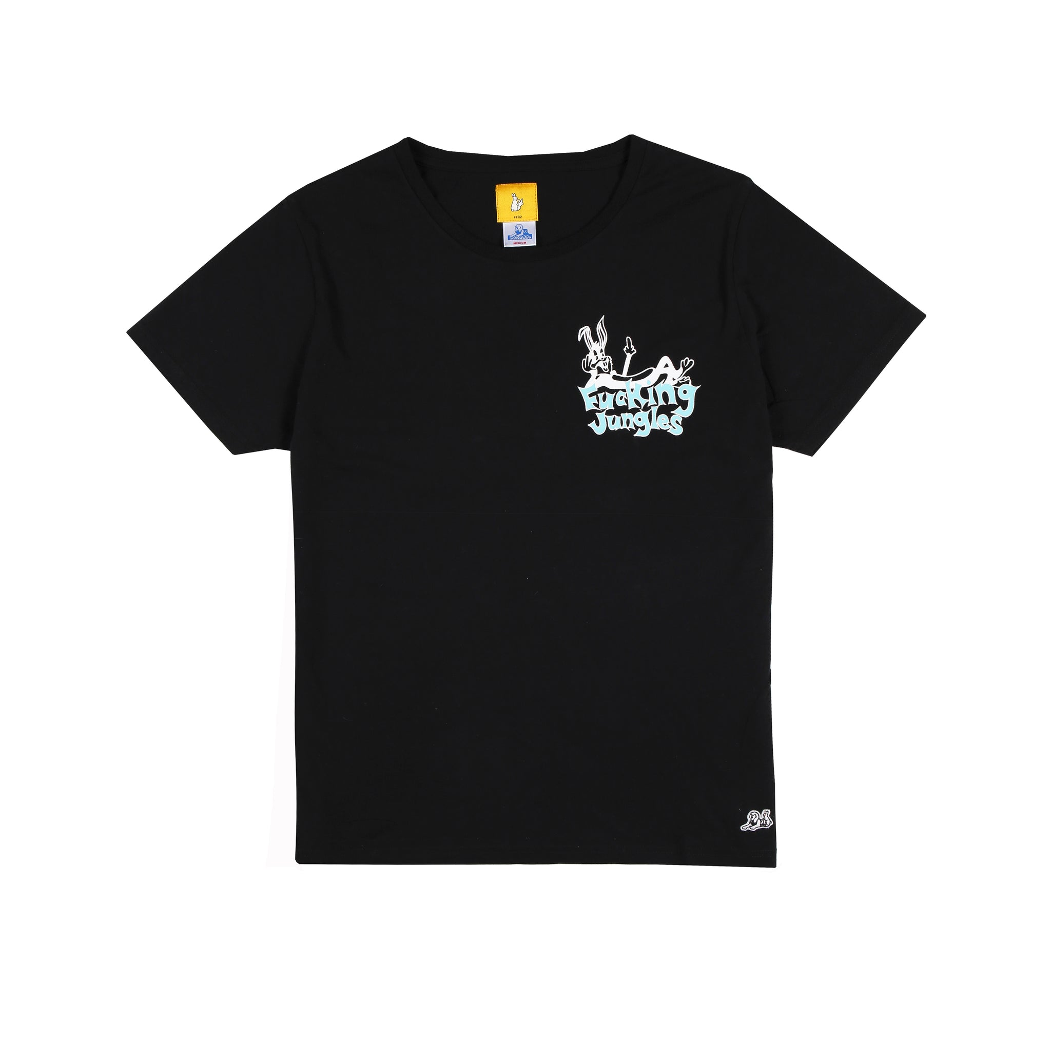 Jungles/Fxxking Rabbits - Safe Sex SS tee black