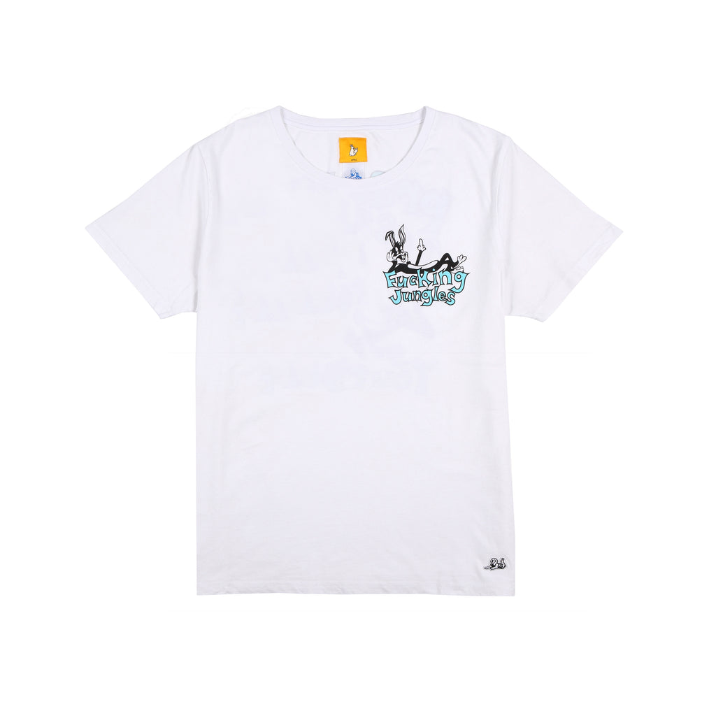 Jungles/Fxxking rabbits - Safe Sex SS tee white