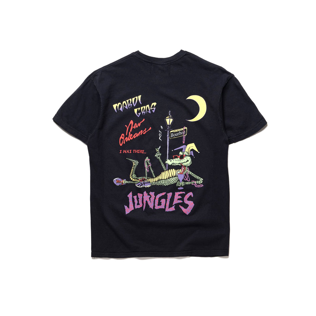 Party Alligator SS tee black