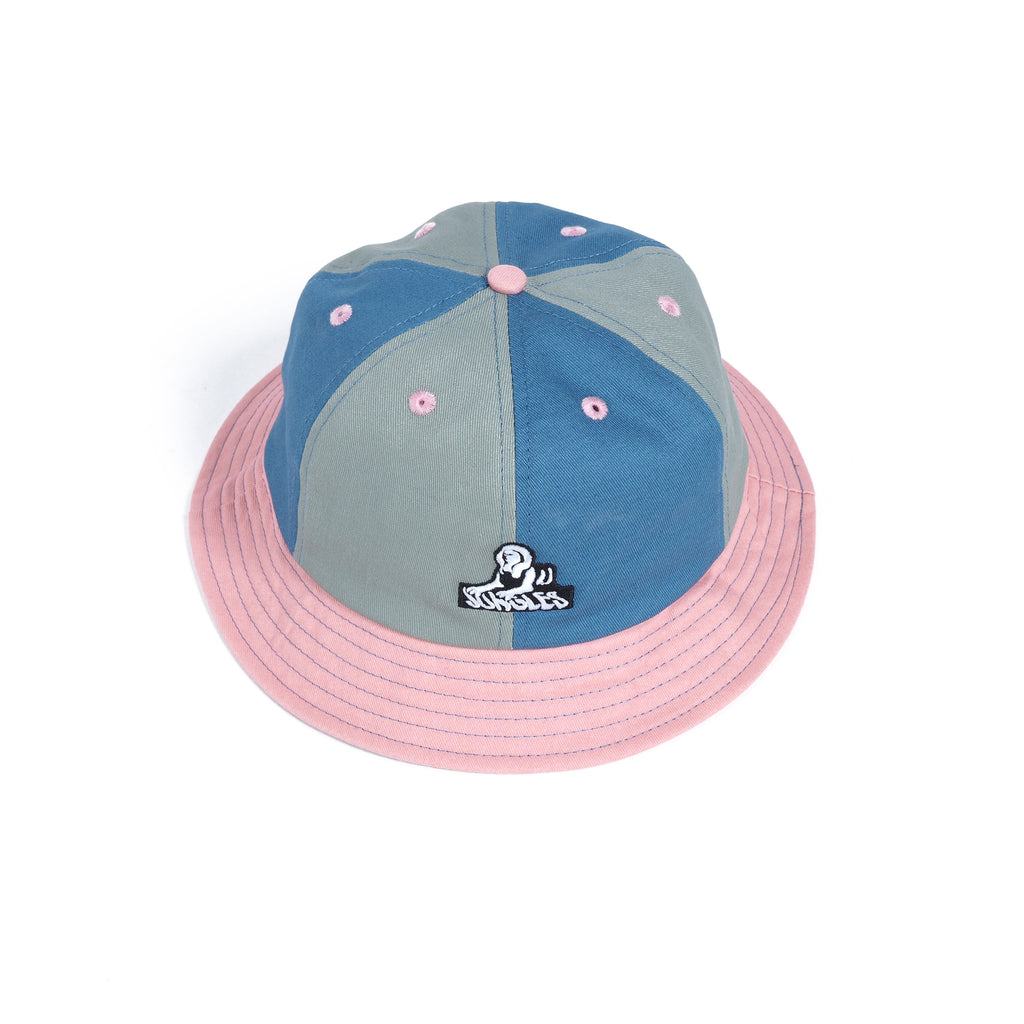Multi colour bucket hat