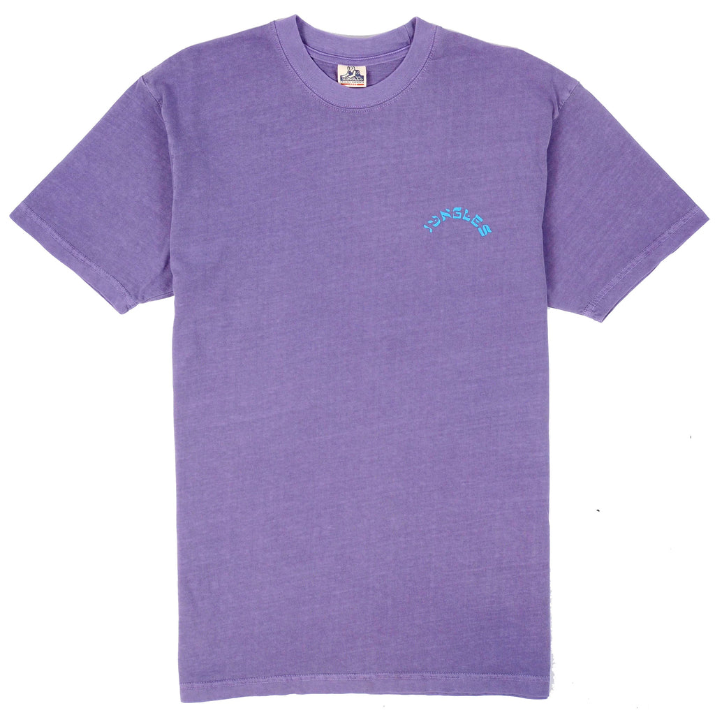 OFFSHORE SS TEE PURPLE OVERDYE