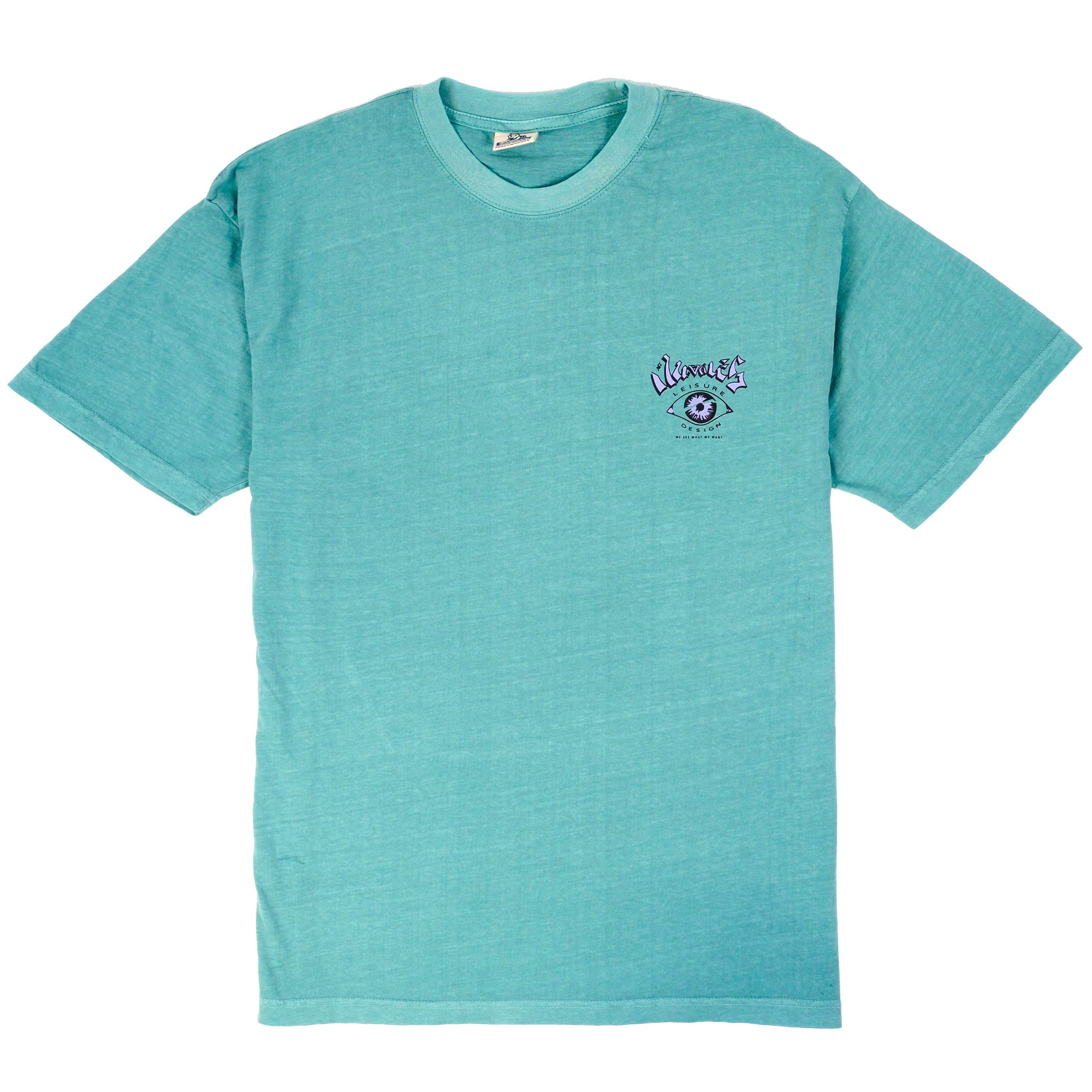 LEISURE DESIGN SS TEE - SEAFOAM
