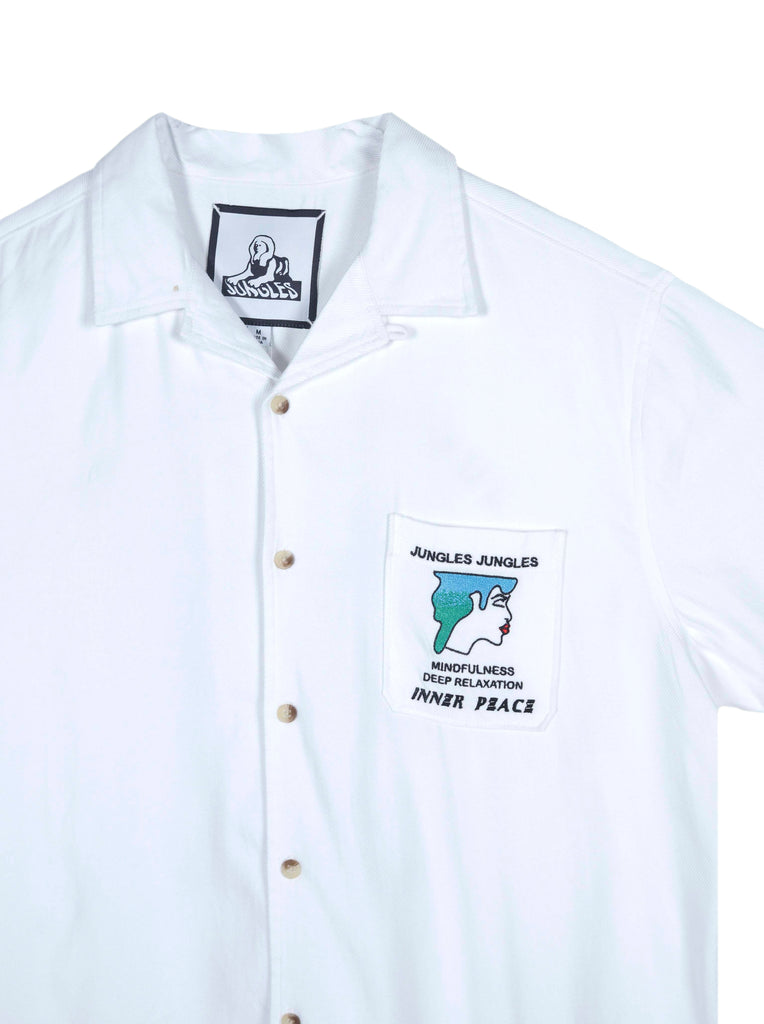 Inner Peace button up shirt
