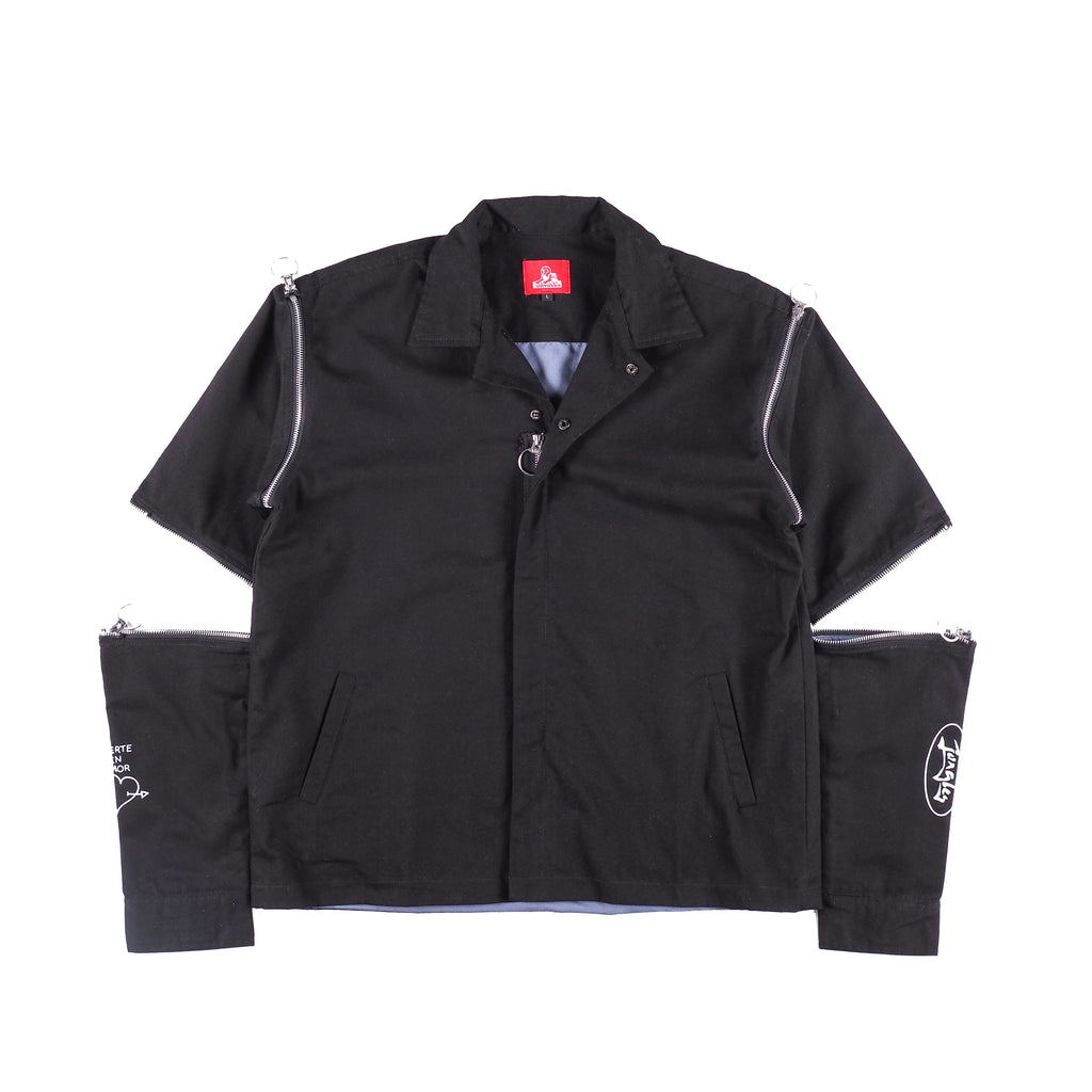 Multi-zip Jacket - black