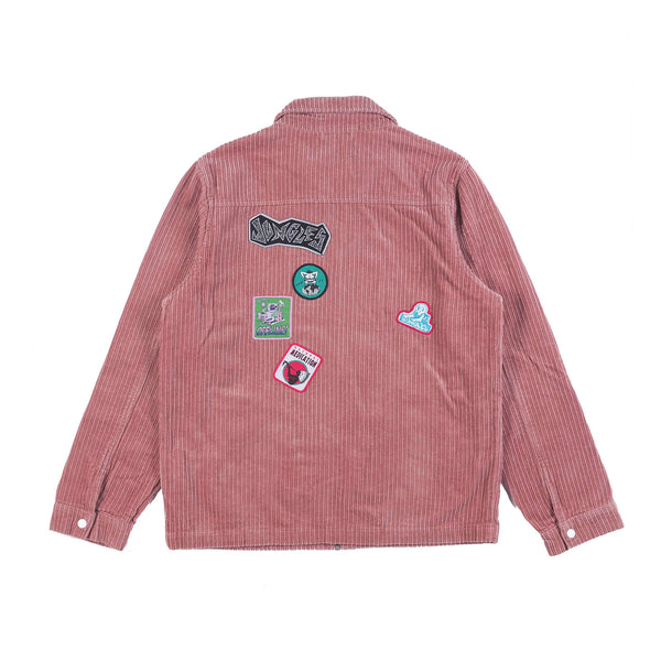 PATCH SLAP CORDUROY JACKET