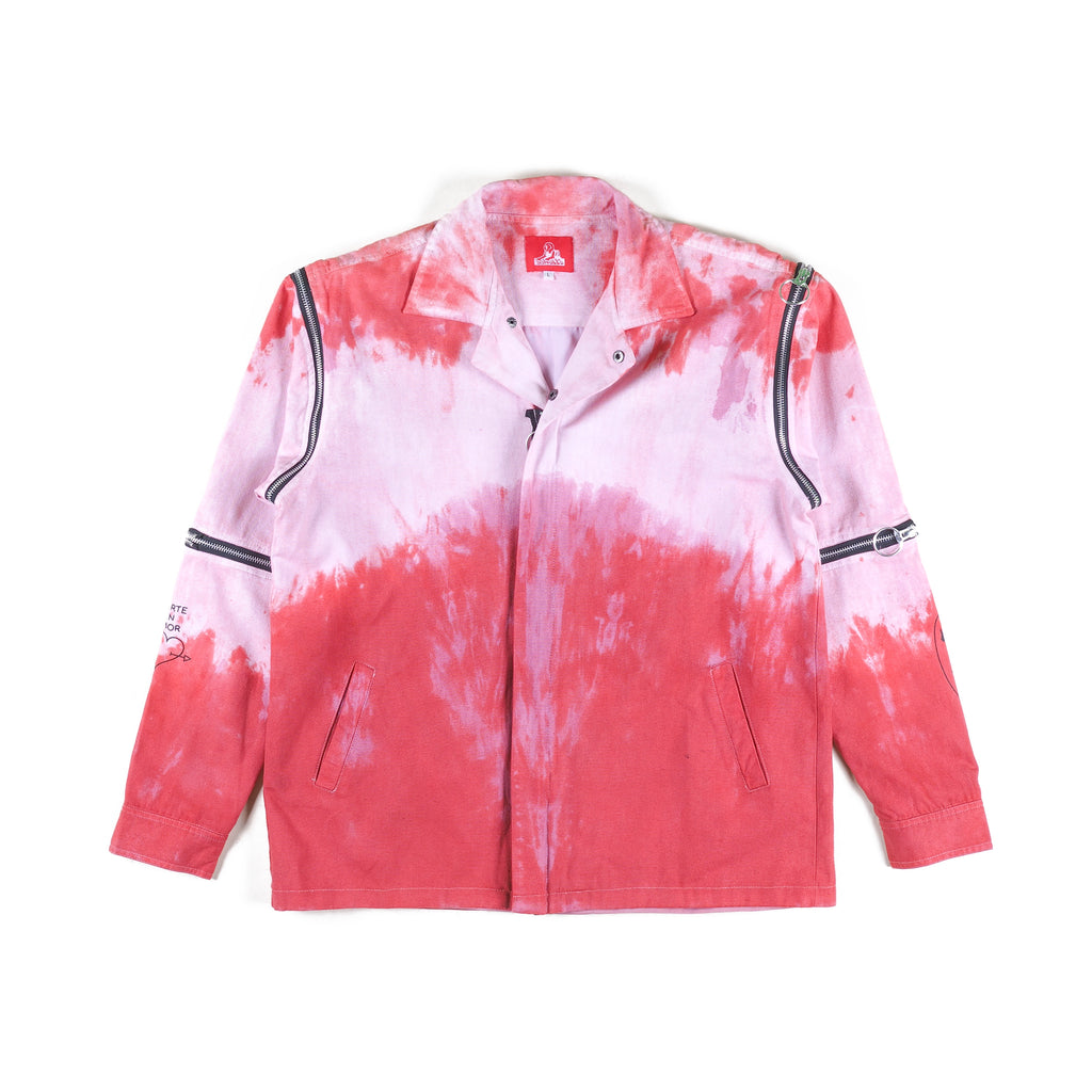 Multi-zip Jacket tie die